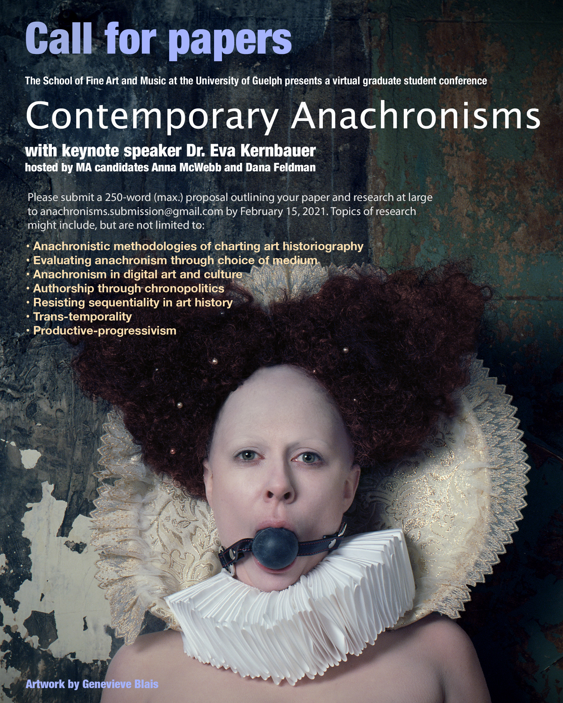 Contemporary Anachronisms cfpposter