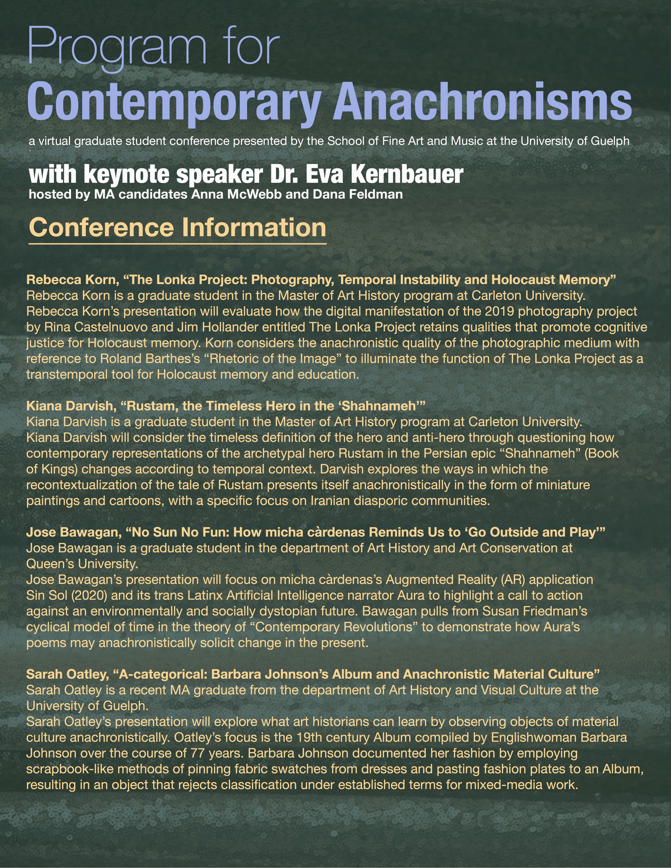 Contemporary Anachronisms program 002 Page 2