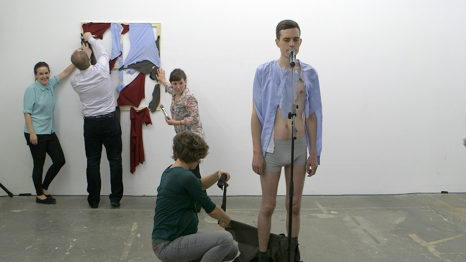 Christian Falsnaes, Opening, KW Institute of Contemporary Art, Berlin 2013