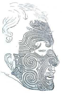 Maori-Gesichtstätowierungen_Gesichts Moko
