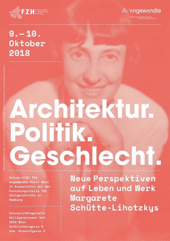 Margarete Schütte Lihotzkys Plakat