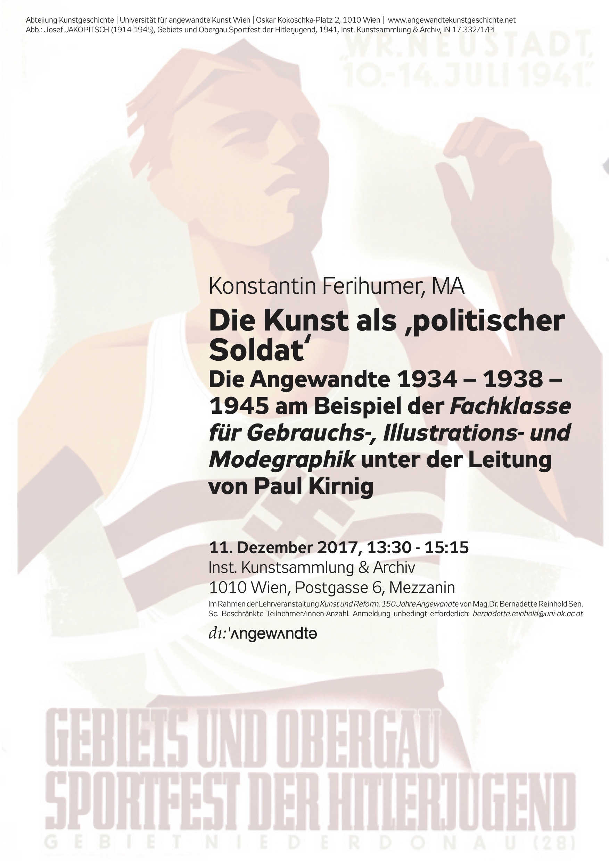 Plakat Die Kunst Als Politischer Soldat
