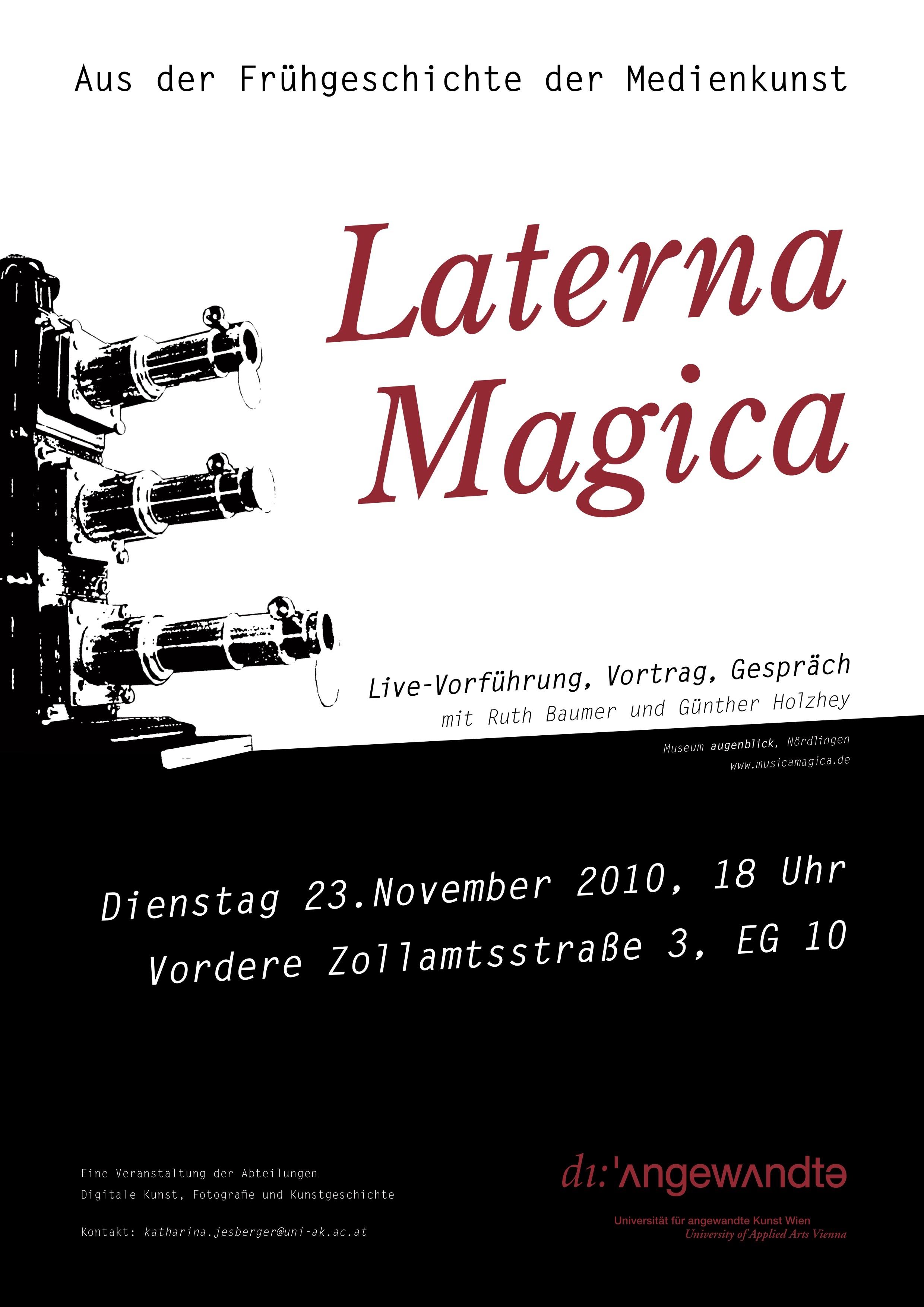 Plakat 101123 Laterna Magica