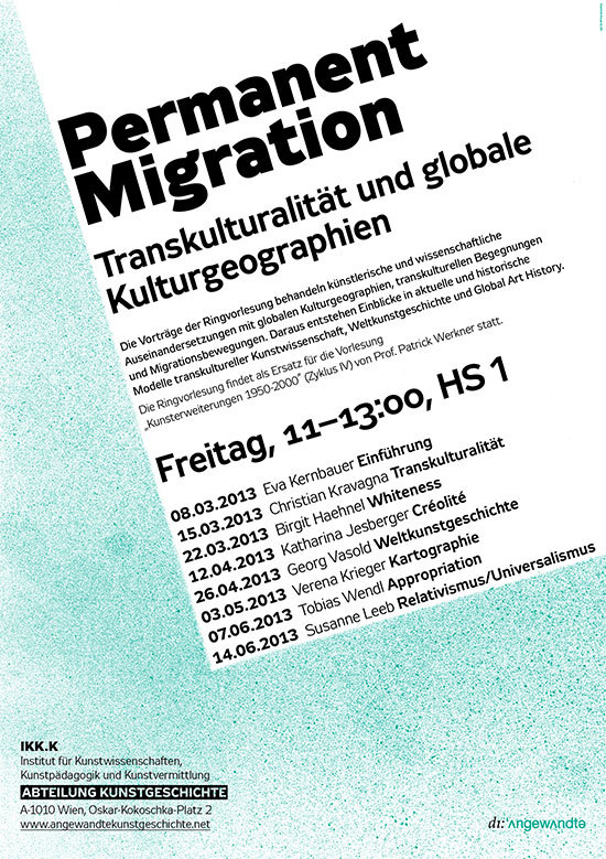 Plakat Migration Webseite
